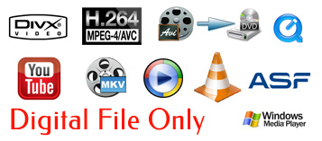 Convert to Digital File Only