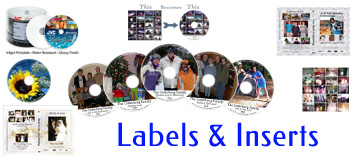 Disc Labels & Case Inserts